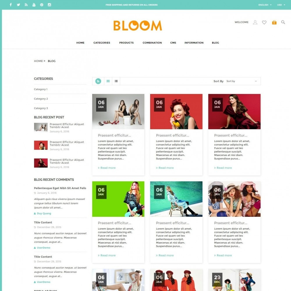 theme - Moda & Calçados - Bloom | Clothing Fashion Store - 6