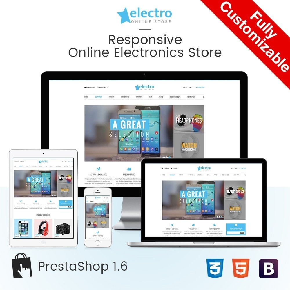 theme - Электроника и компьютеры - Electro | Electronics Computers High Tech Store - 1