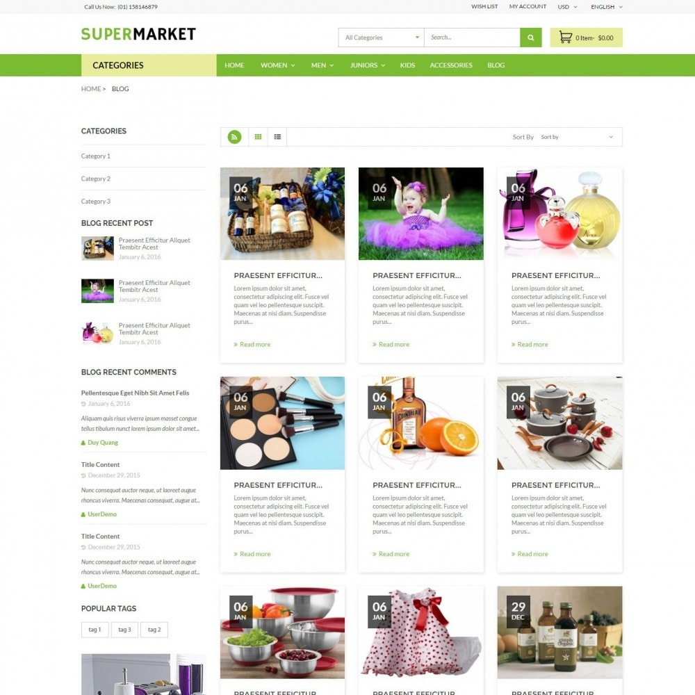 theme - Salud y Belleza - SuperMarket | Bio Medical Fashion Baby Beauty Store - 6