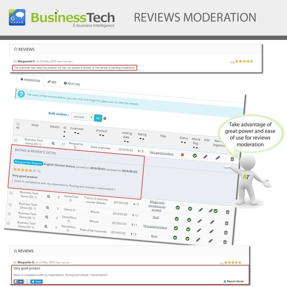 module - SEO - Customer Ratings and Reviews Pro + Google Rich Snippets - 9