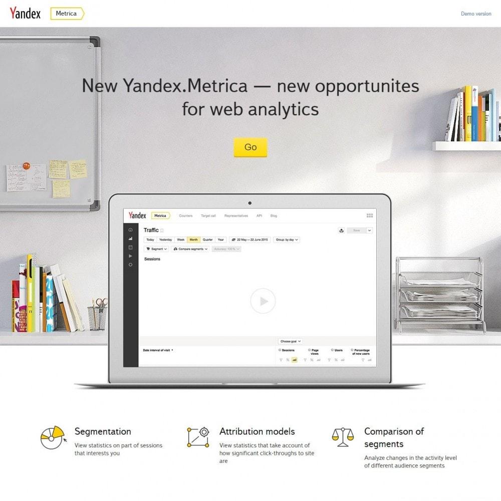 module - Analytics & Statistiche - Metrica - Yandex Analytics - 3