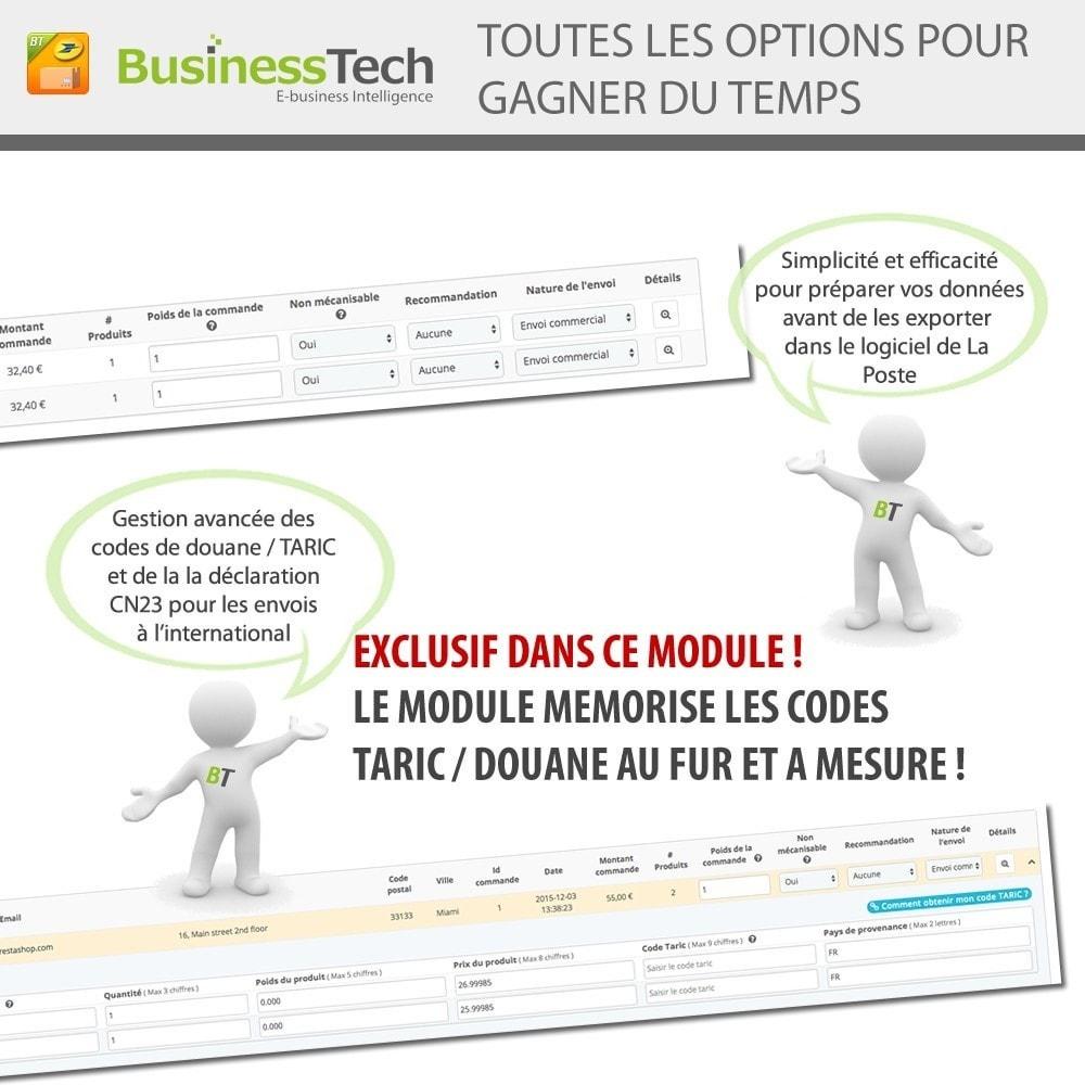 module - Préparation & Expédition - INET Expeditor Pro pour La Poste & Colissimo - 4