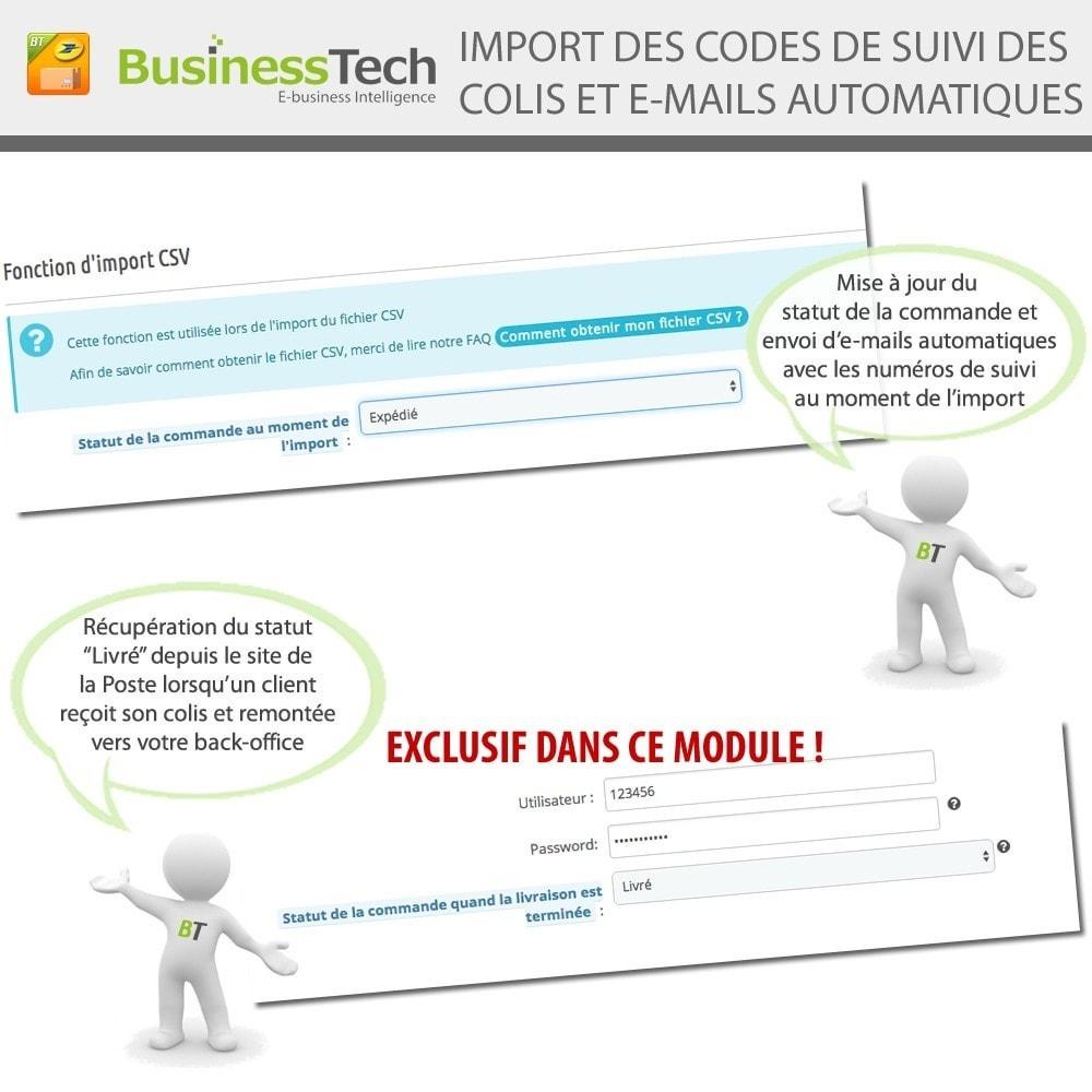 module - Préparation & Expédition - INET Expeditor Pro pour La Poste & Colissimo - 6