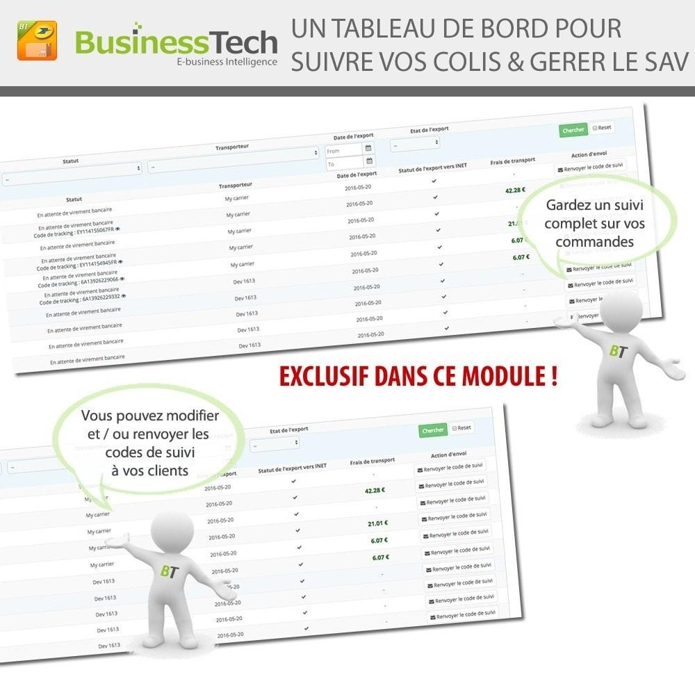 module - Préparation & Expédition - INET Expeditor Pro pour La Poste & Colissimo - 7