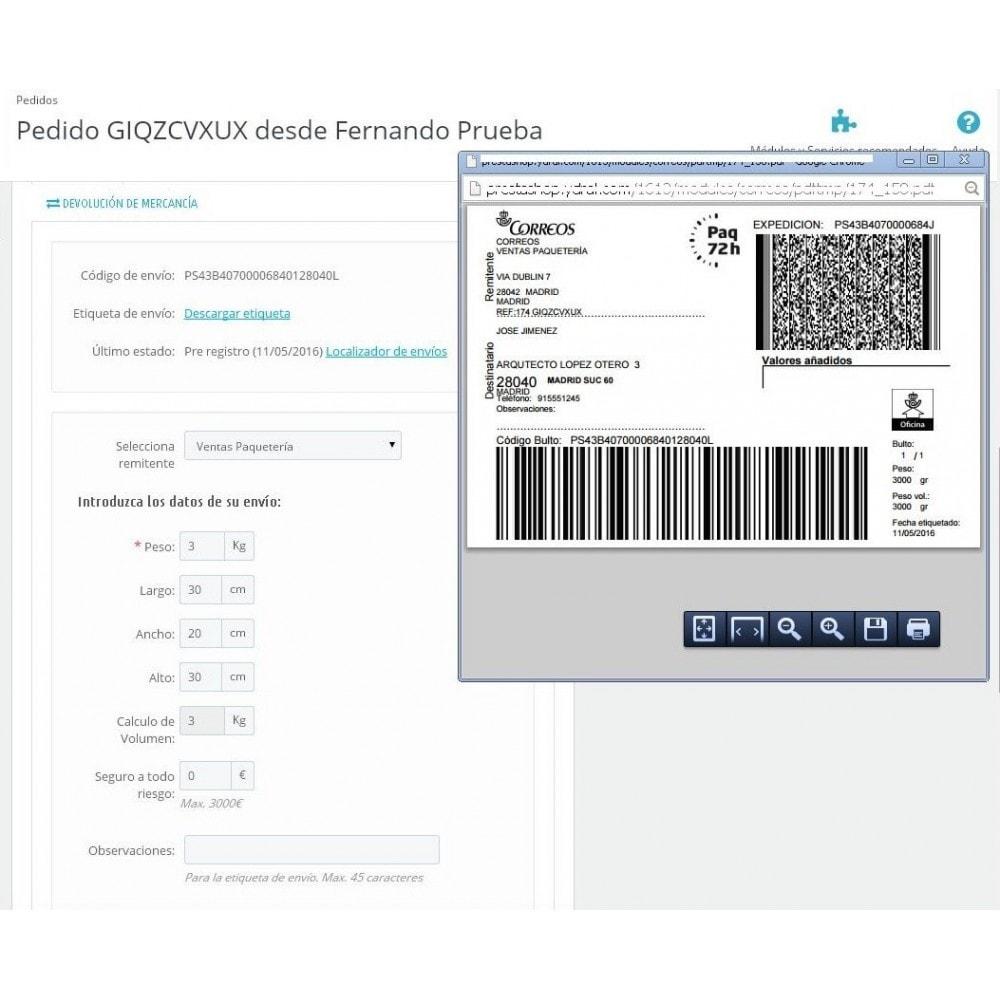 module - Envío y Logística - Correos Oficial - 6