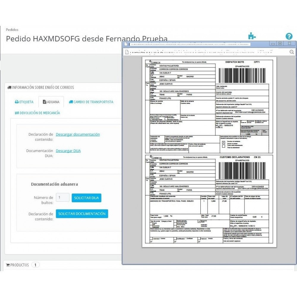 module - Transportistas - Correos Oficial - 8
