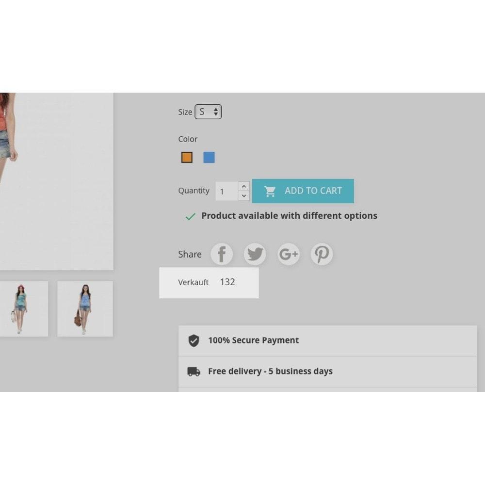 module - Zusatzinformationen & Produkt-Tabs - Produkt-Verkaufszahlen - 2