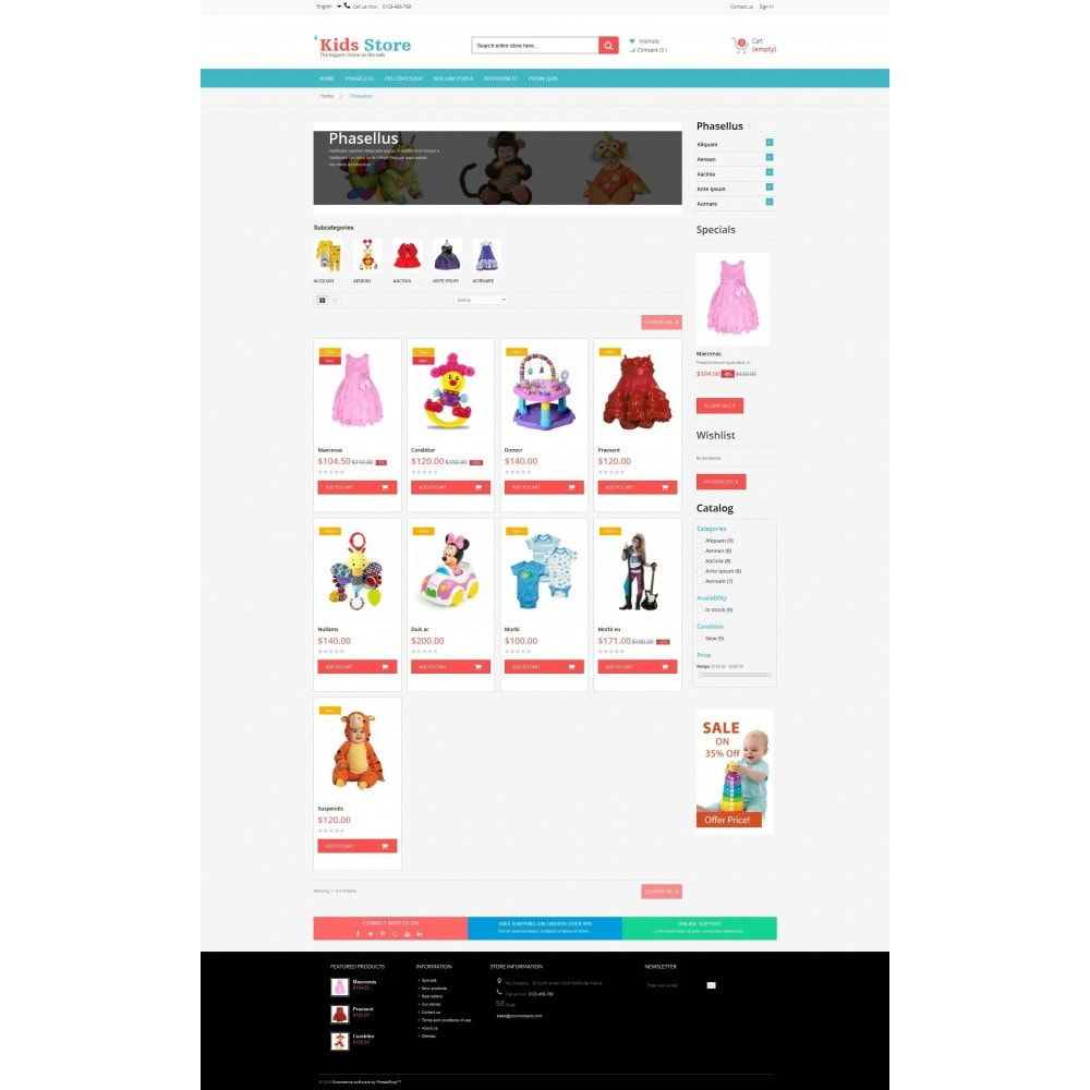 theme - Niños y Juguetes - Kids Store RFX0012 - 3