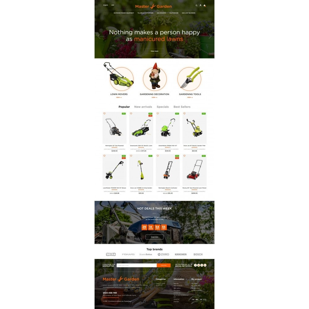 theme - Maison & Jardin - Master Garden - 6