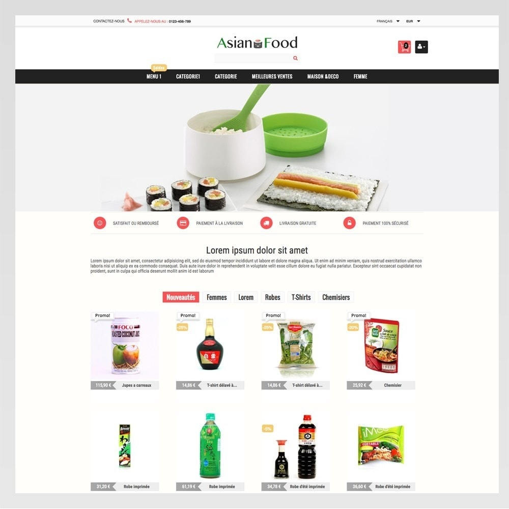 theme - Gezondheid & Schoonheid - ASIAN FOOD - 3