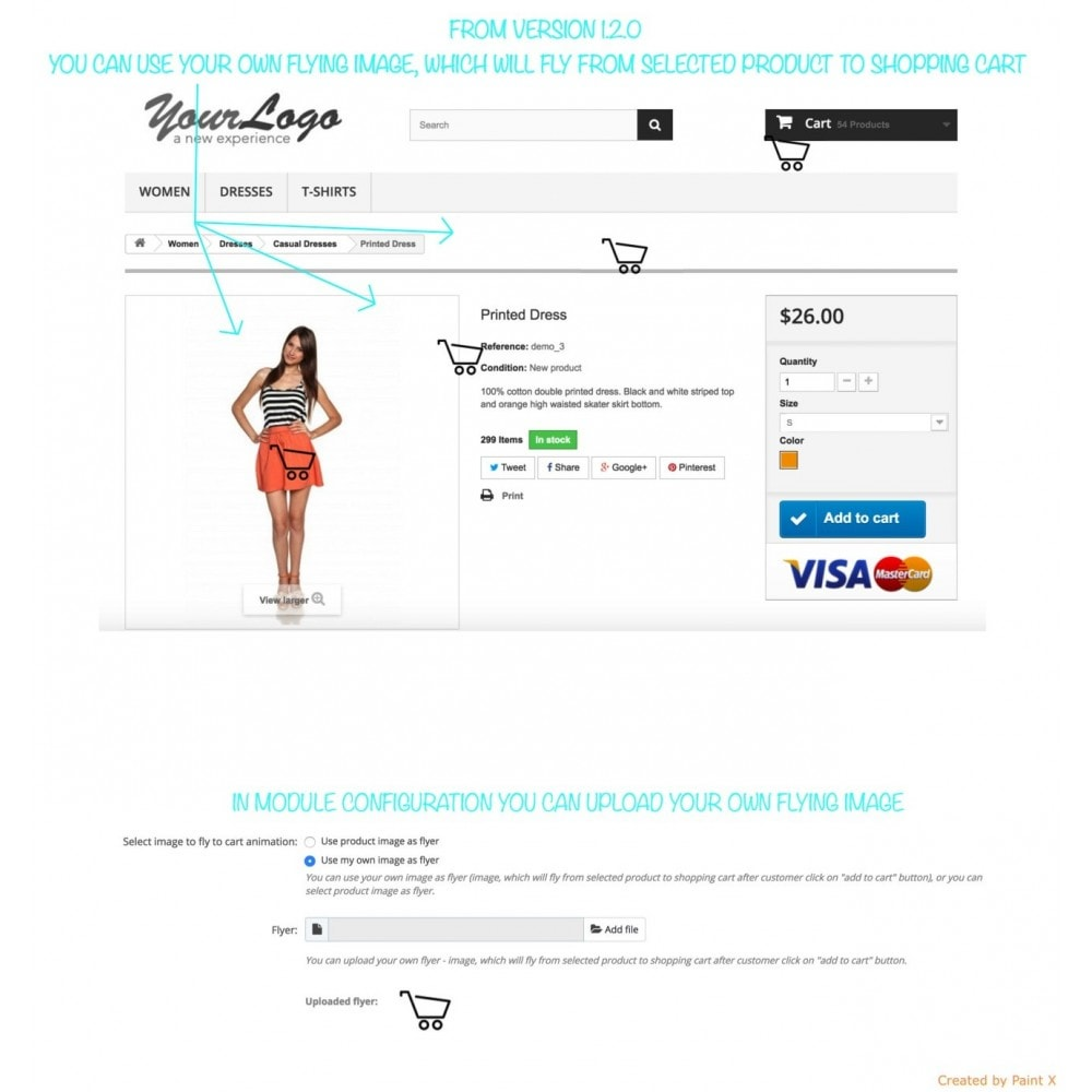 module - Inscription & Processus de commande - Add To Cart Fly Effect, Hide Popup and Other Animations - 9