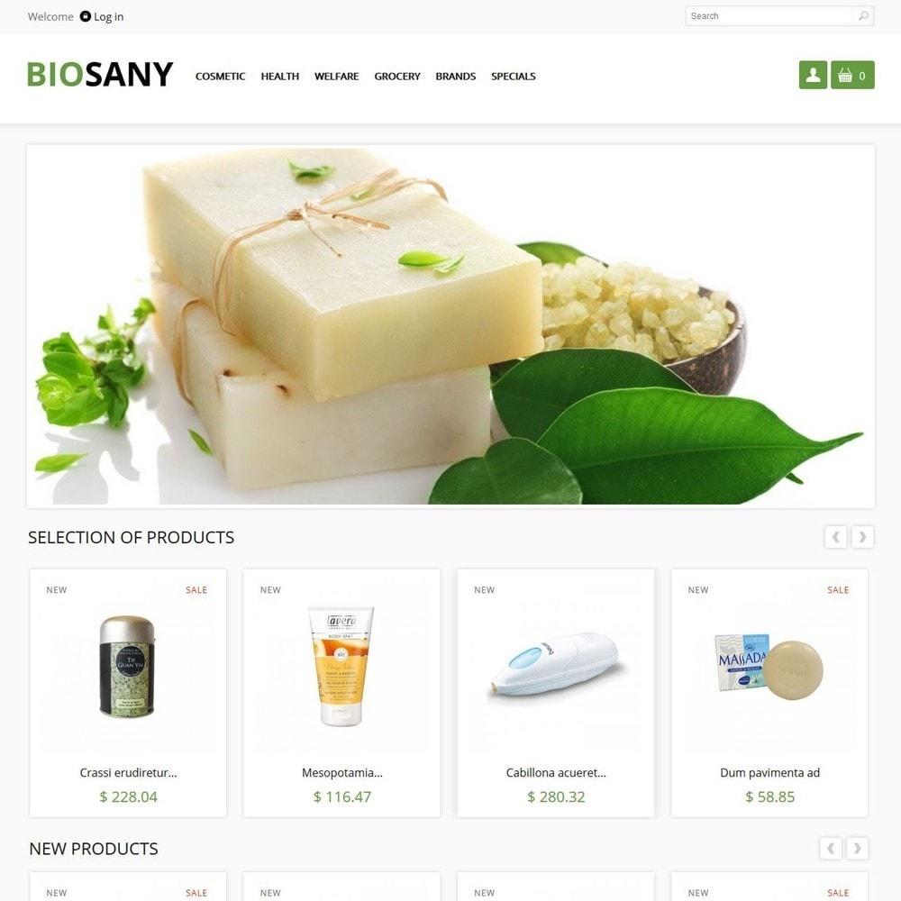 theme - Gezondheid & Schoonheid - Biosany - 1