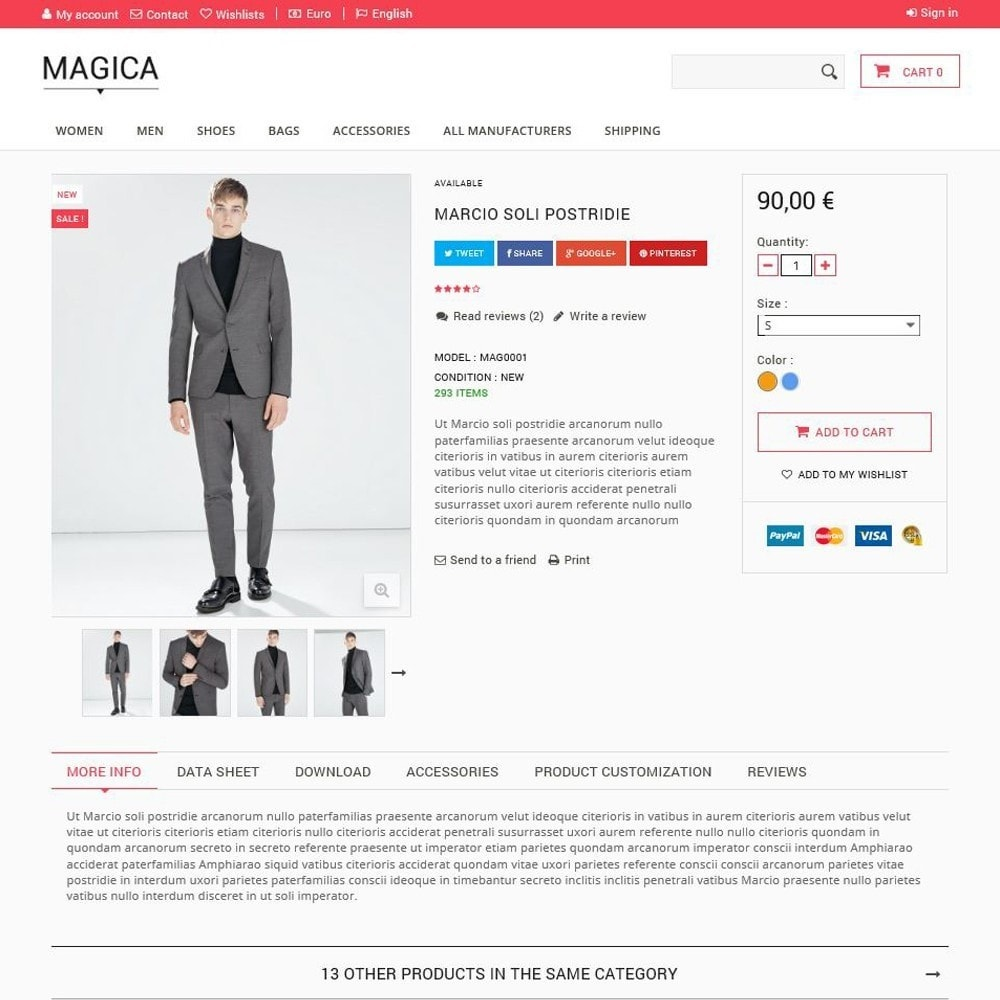 theme - Fashion & Shoes - Magica - 3