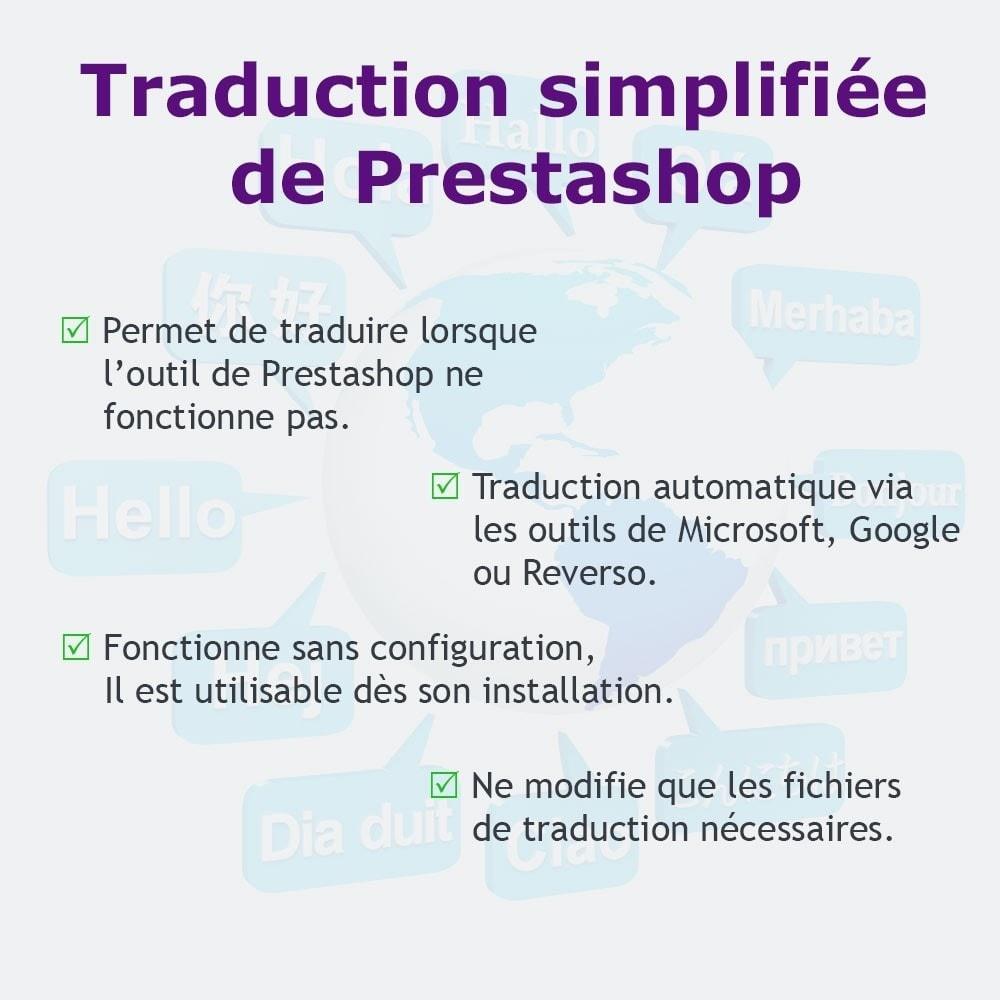 module - International & Localisation - Traduction simplifiée - 1