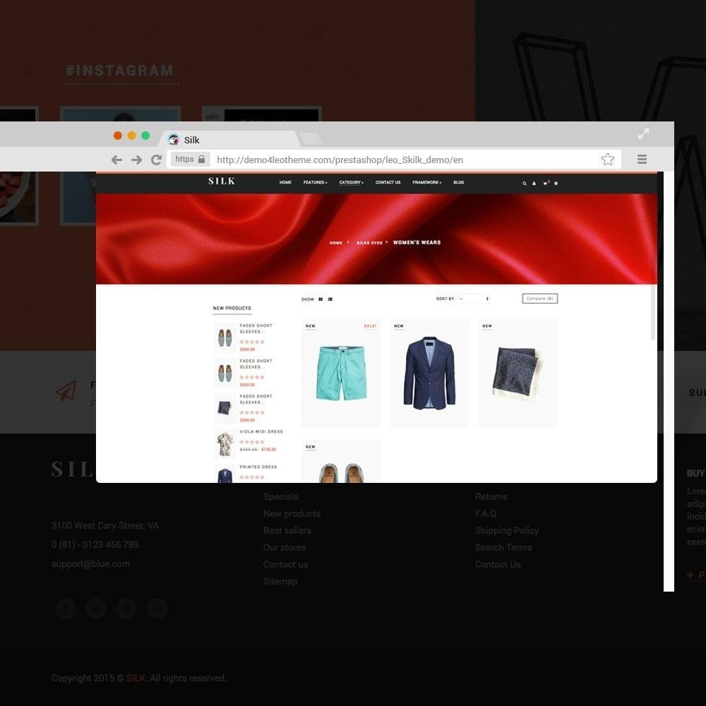 theme - Мода и обувь - Ap Silk - 4