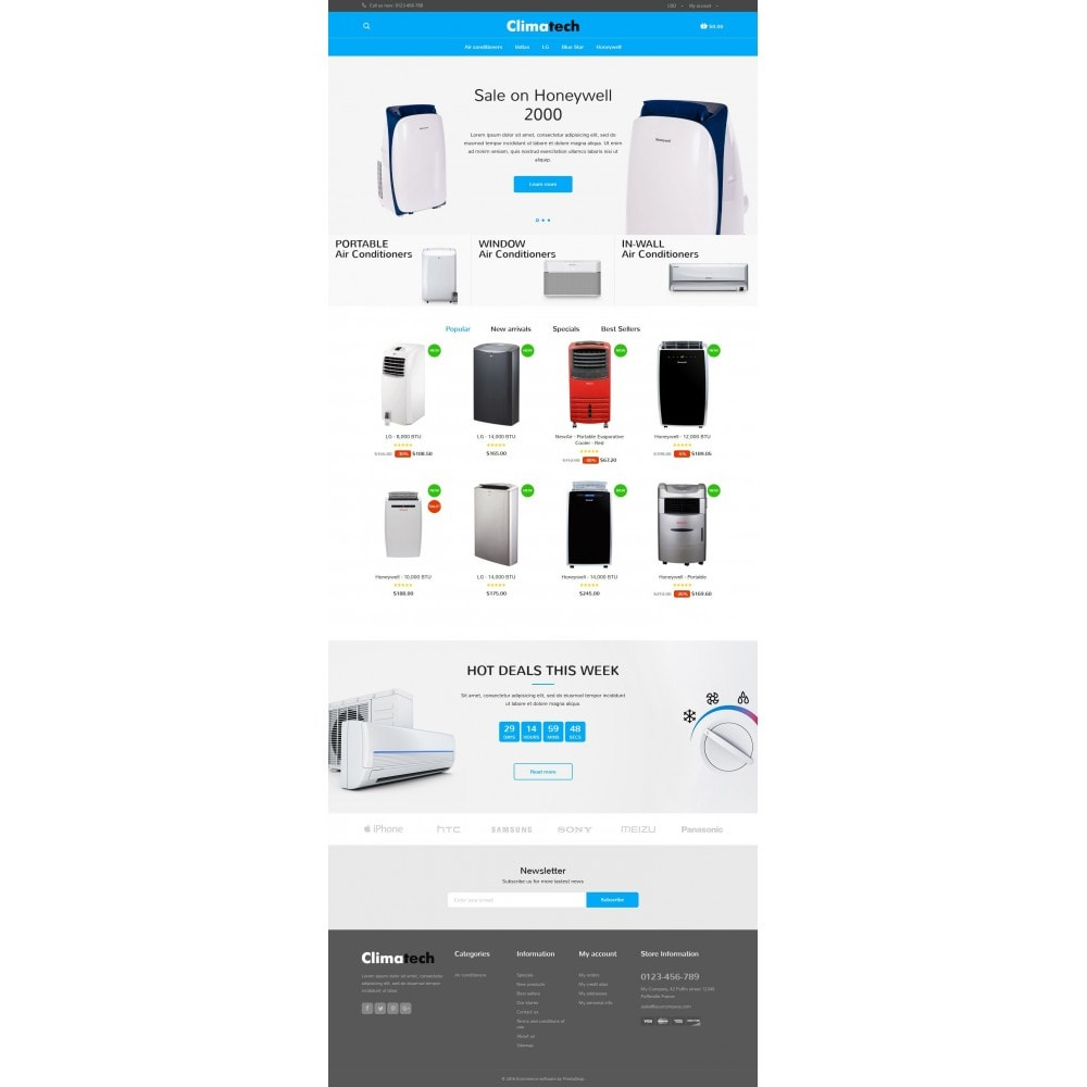 theme - Elektronica & High Tech - Climatech Store - 6