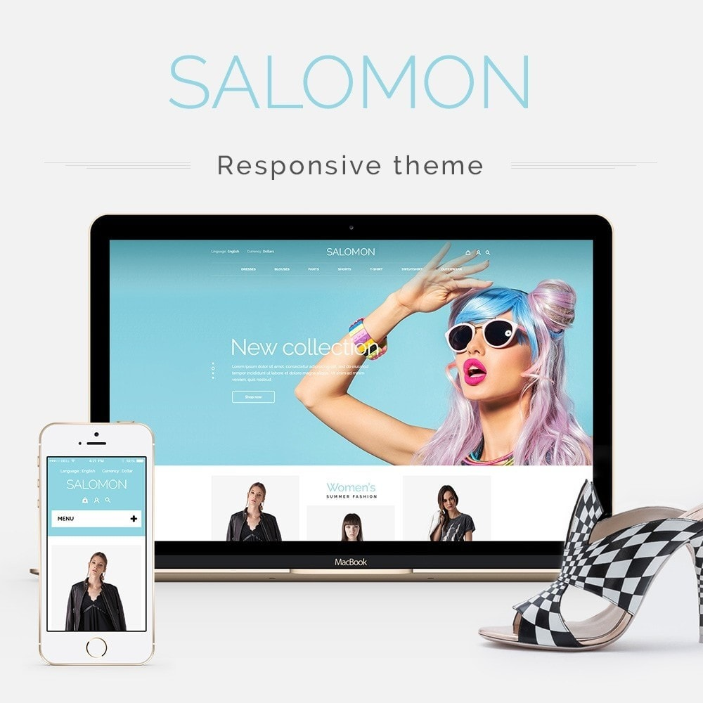 theme - Fashion & Shoes - Salamon Fashion Store - 1