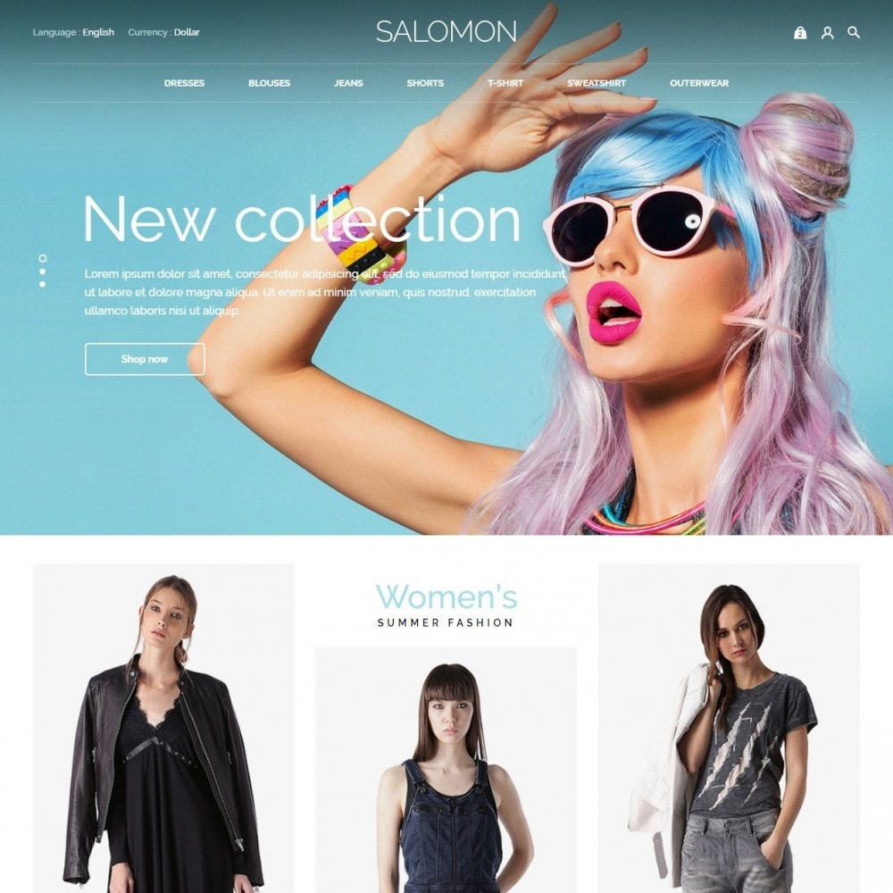 theme - Moda & Obuwie - Salamon Fashion Store - 2