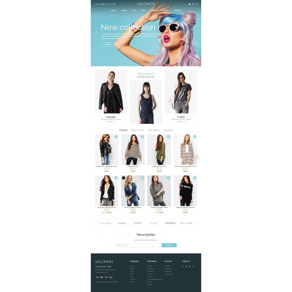 theme - Mode & Schoenen - Salamon Fashion Store - 4