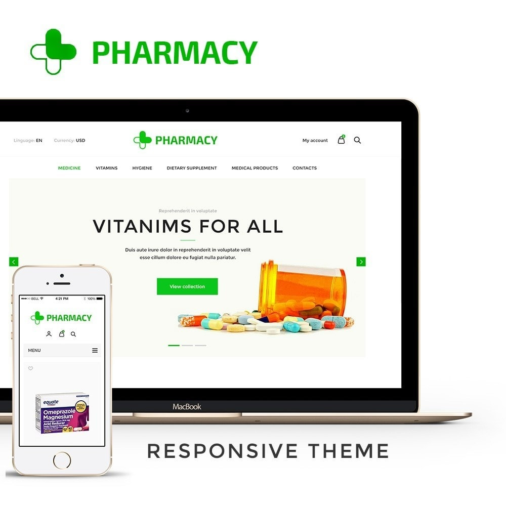 theme - Salud y Belleza - Pharmacy Store - 1