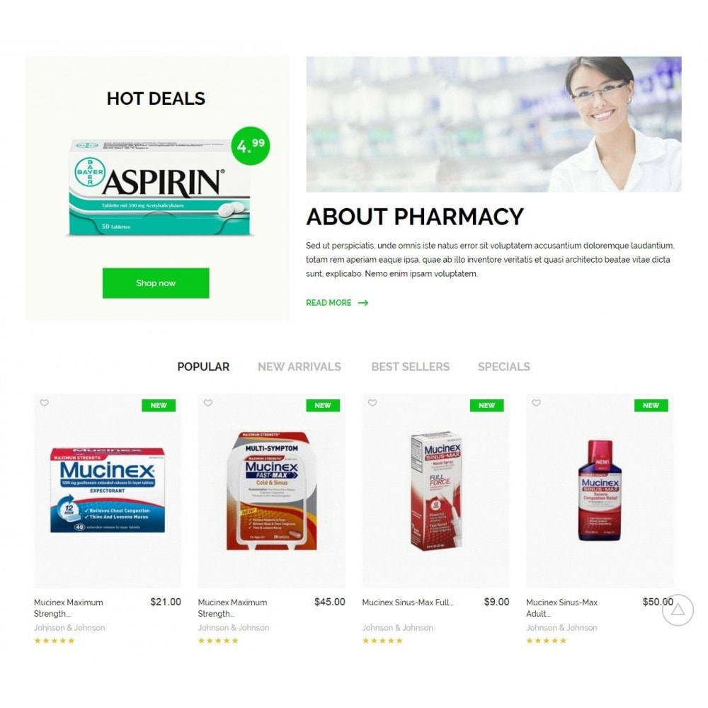 theme - Health & Beauty - Pharmacy Store - 3