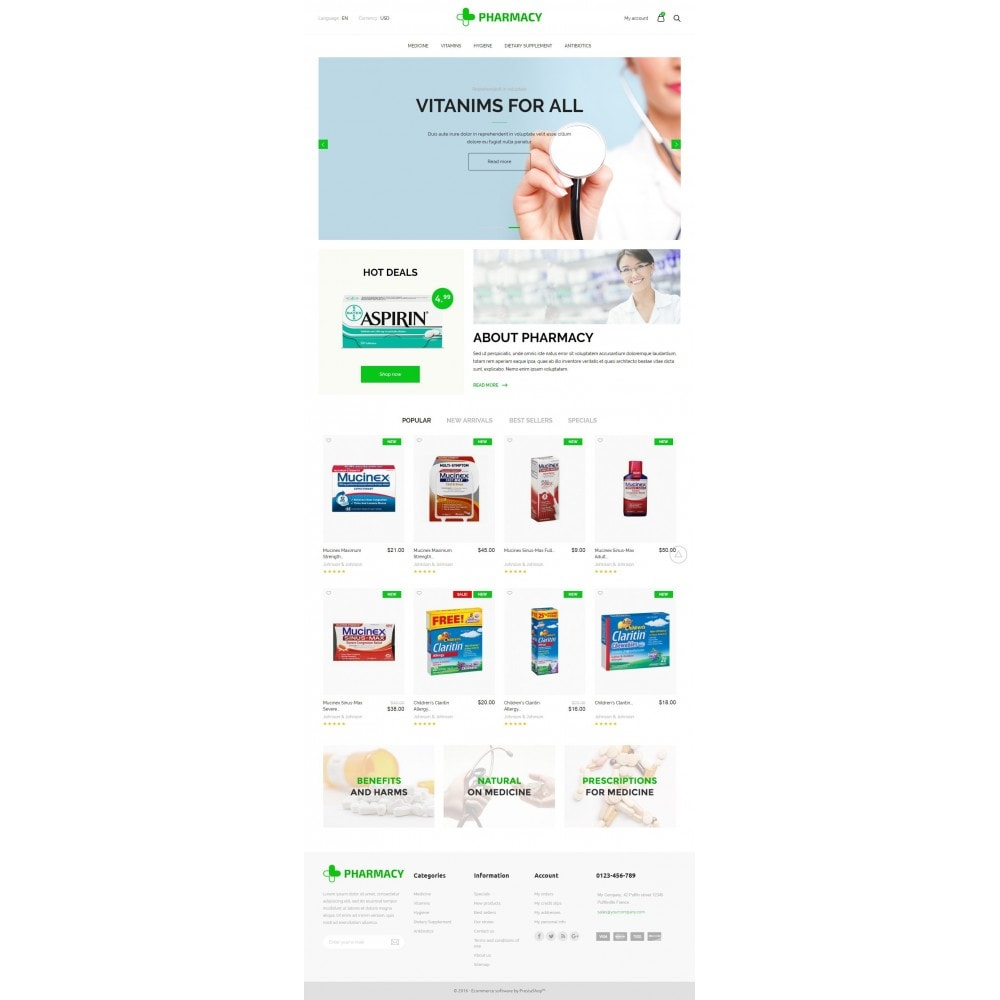 theme - Health & Beauty - Pharmacy Store - 6