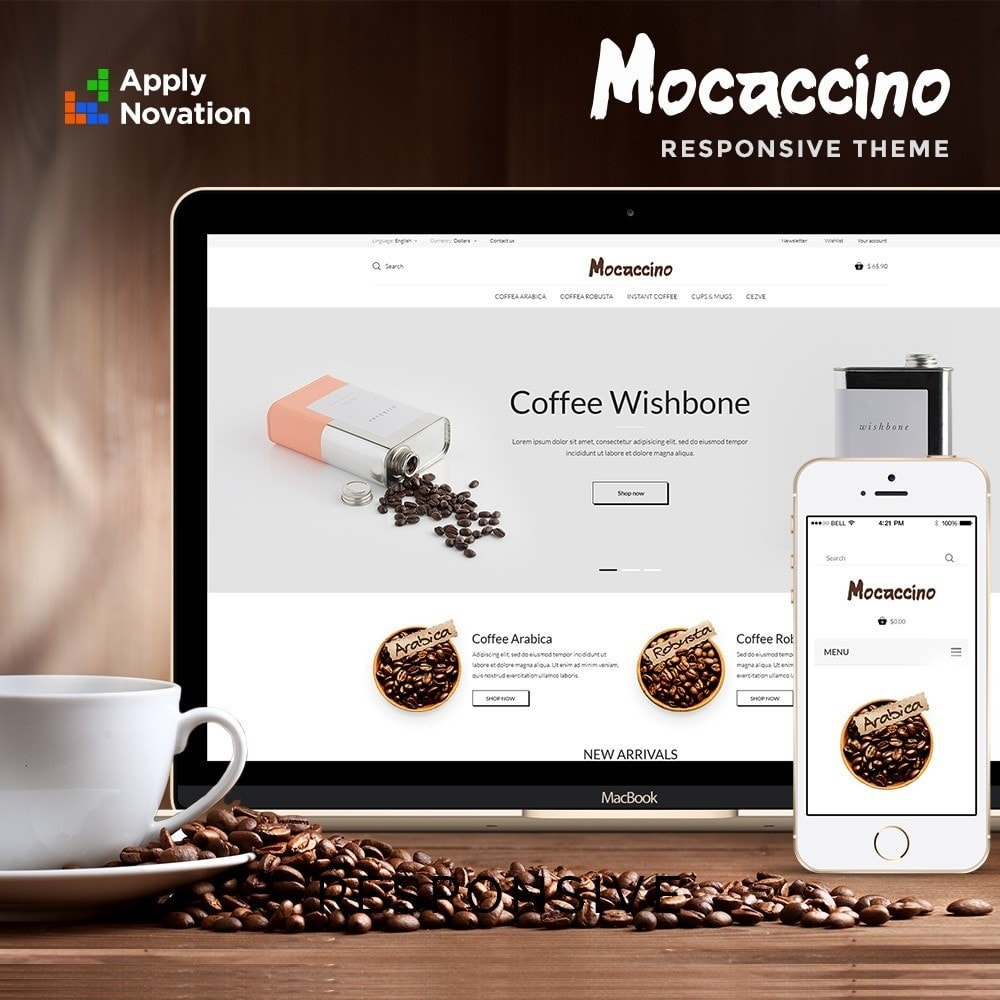 theme - Drink & Wine - Moccacino Coffe Store - 1