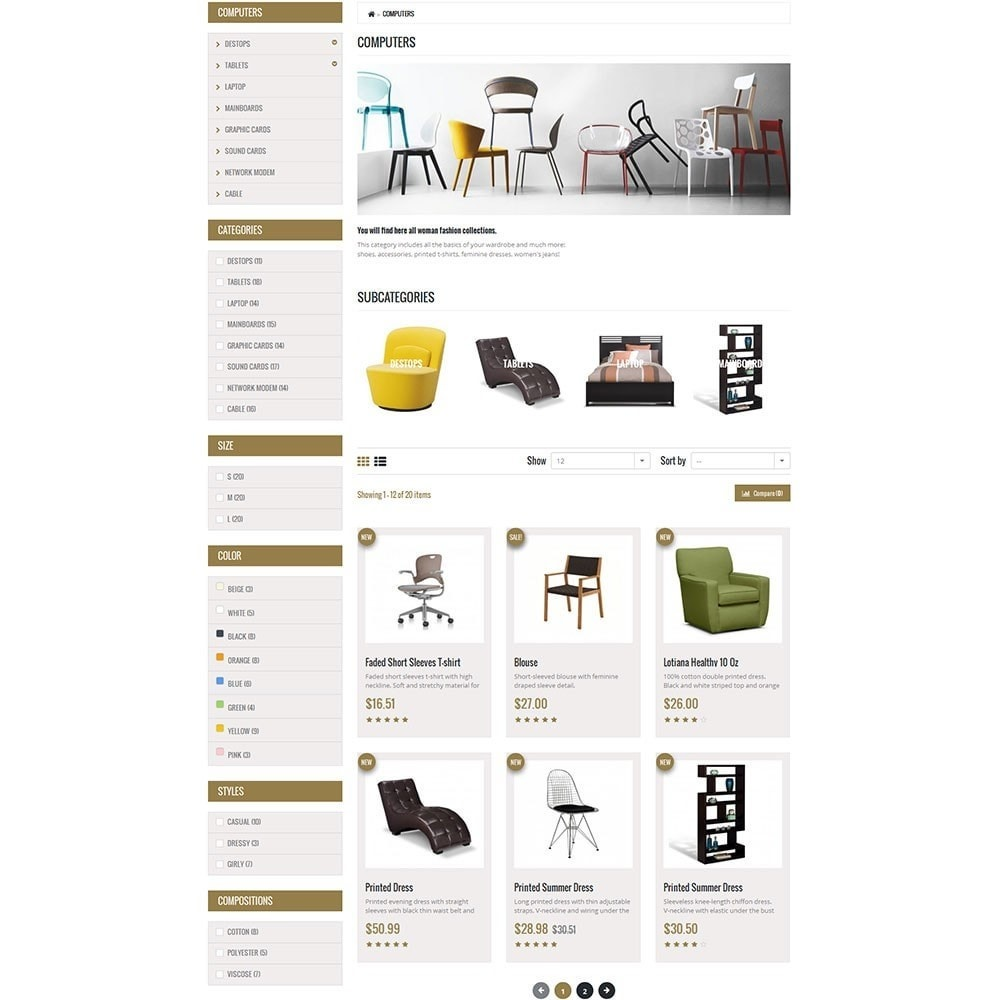 theme - Maison & Jardin - Furniture Interior Store - 7