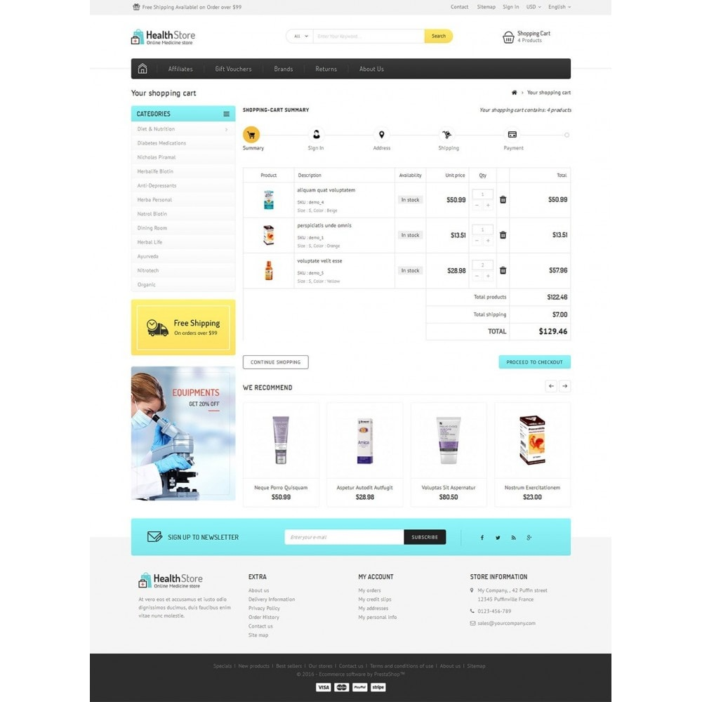 theme - Health & Beauty - Medicine Store - 5