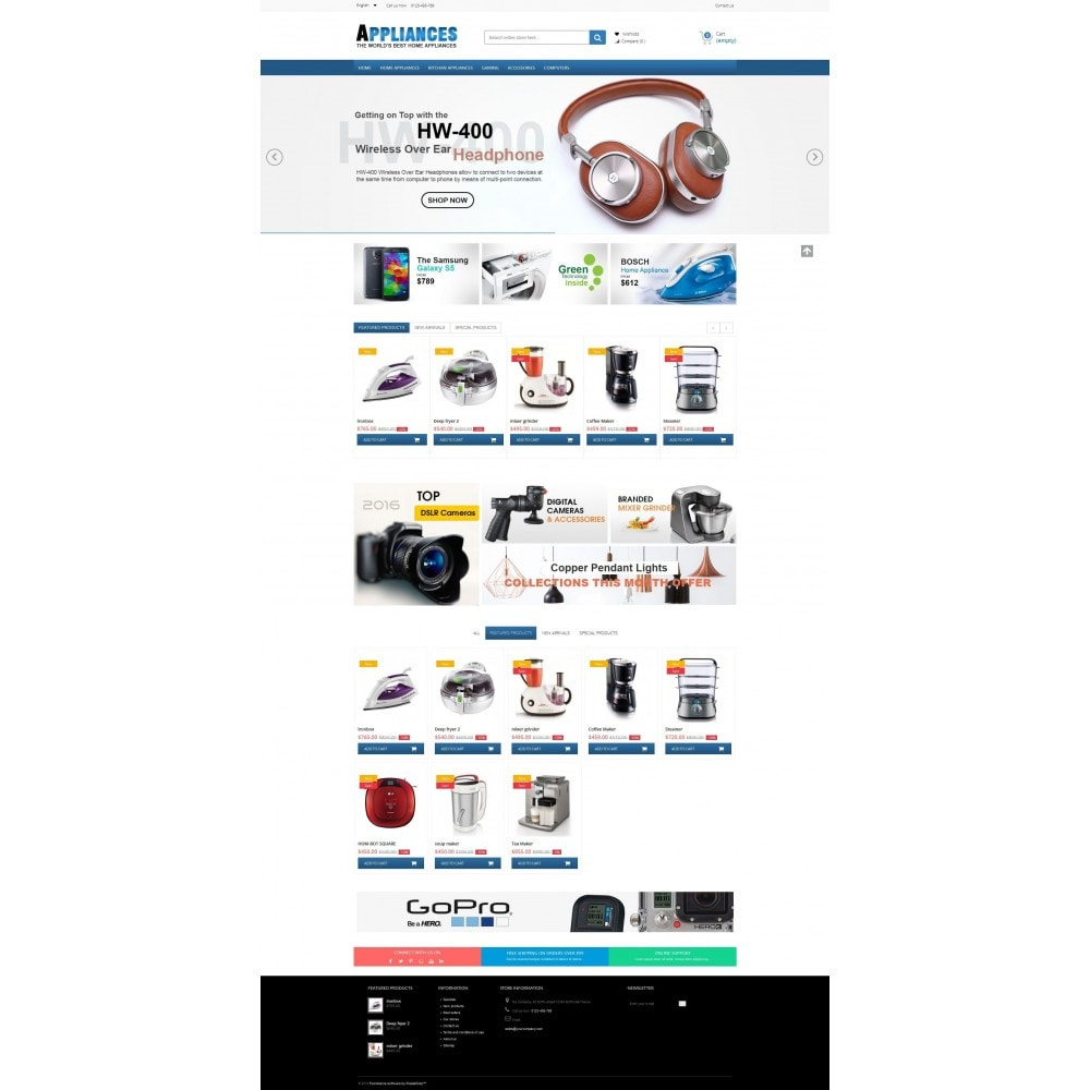 theme - Eletrônicos & High Tech - Home Appliances Premium - 2