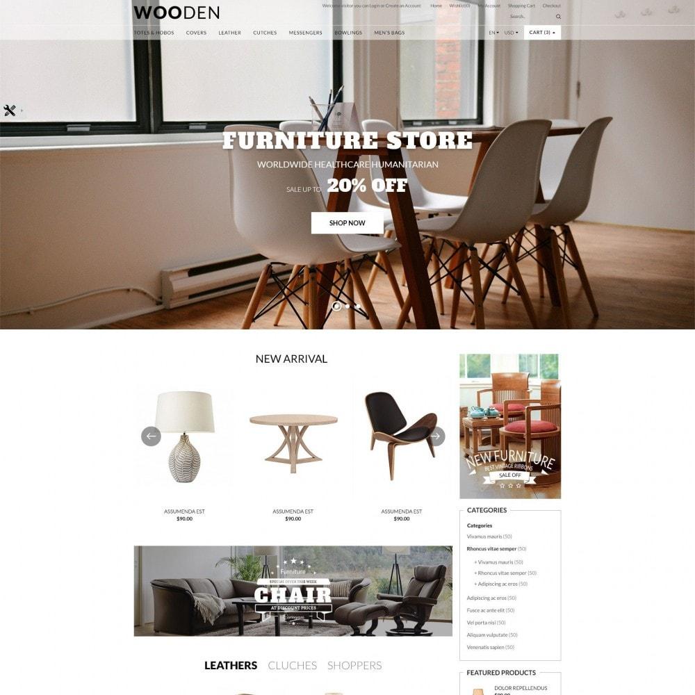 theme - Dom & Ogród - Wooden | Home & Furniture - 2
