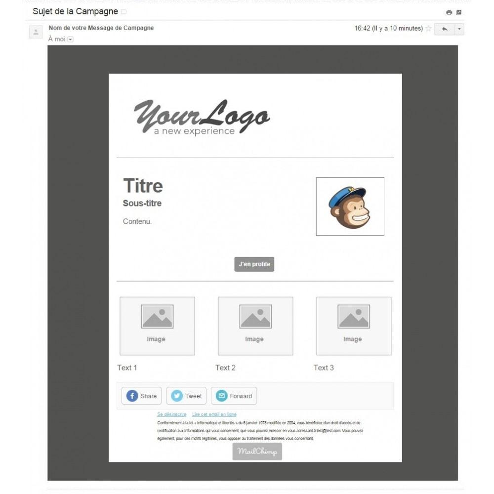 bundle - Les offres du moment - Faites des économies ! - Pack Ventes : Newsletter Mailchimp + Pop Promo + Label & Stickers personnalisables - 3