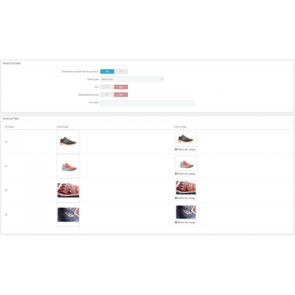 module - Pokaz produktów - Zoom Tool - 4