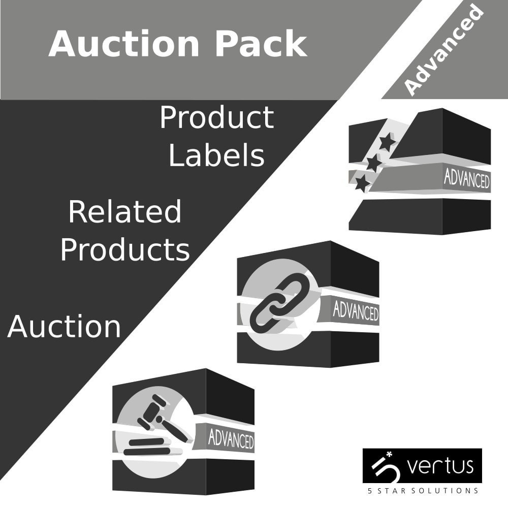 pack - Sprzedaż krzyżowa & Pakiety produktów - Auction Pack: Increase average cart value - 1