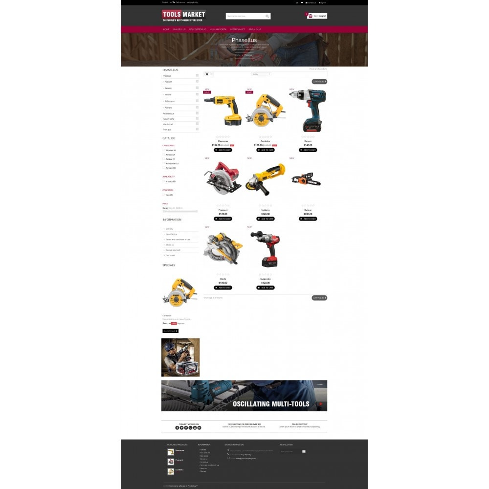 theme - Huis & Buitenleven - Home Tools Market DD001 - 3