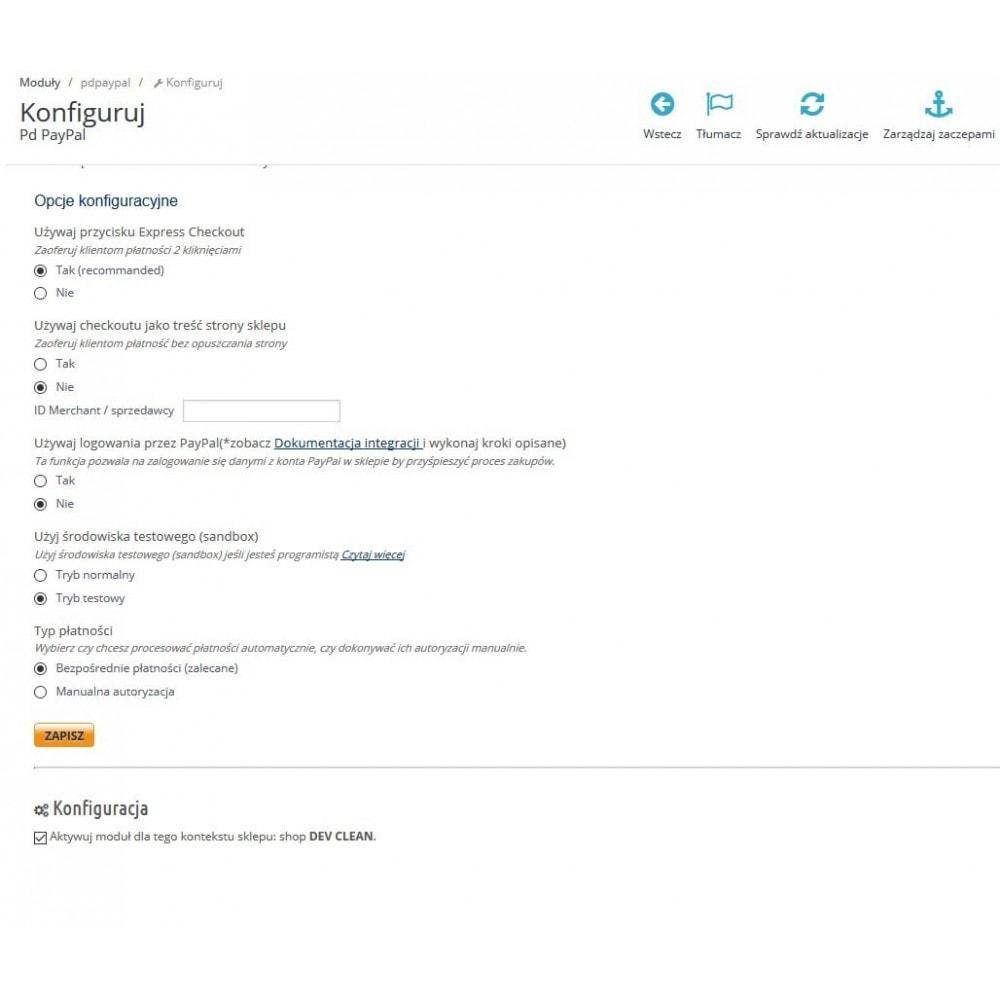 module - Płatność kartą lub Płatność Wallet - Paypal Europe dodatkowa opłata - 4