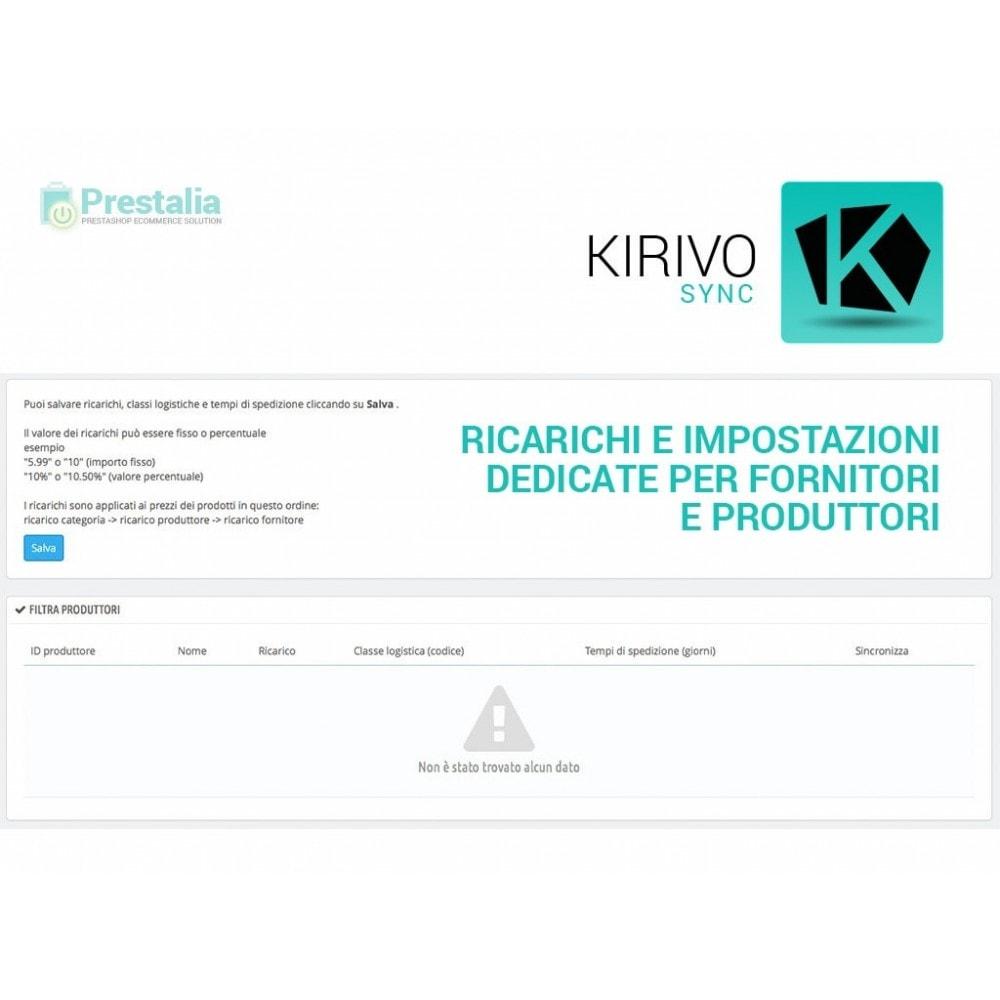 module - Marketplace - Sincronizza PrestaShop con il marketplace di Kirivo - 3