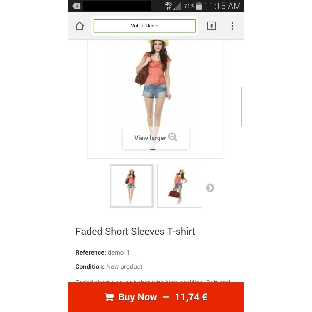 module - Dispositivos-móveis - Sticky Add to Cart Button on Product Pages for Mobile - 4