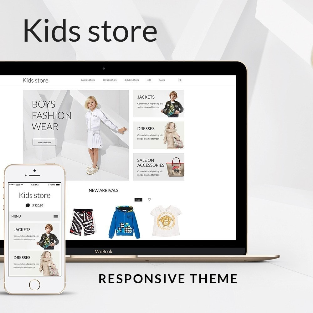 theme - Fashion & Shoes - Kids store - 1