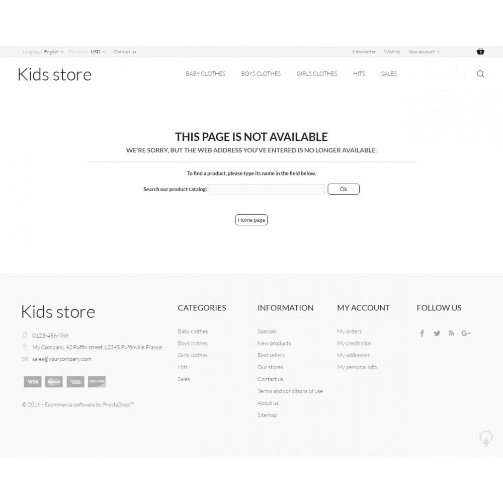 theme - Fashion & Shoes - Kids store - 9