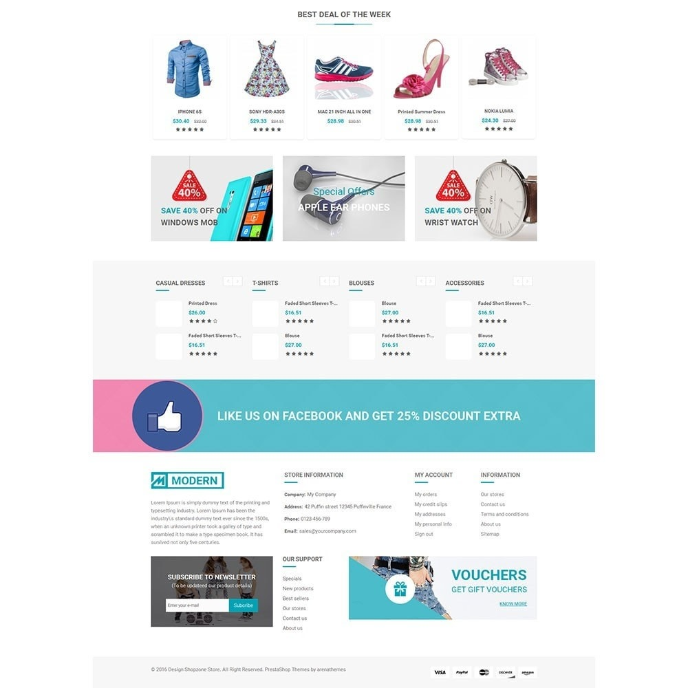theme - Мода и обувь - Shopzone Fashion Store - 4