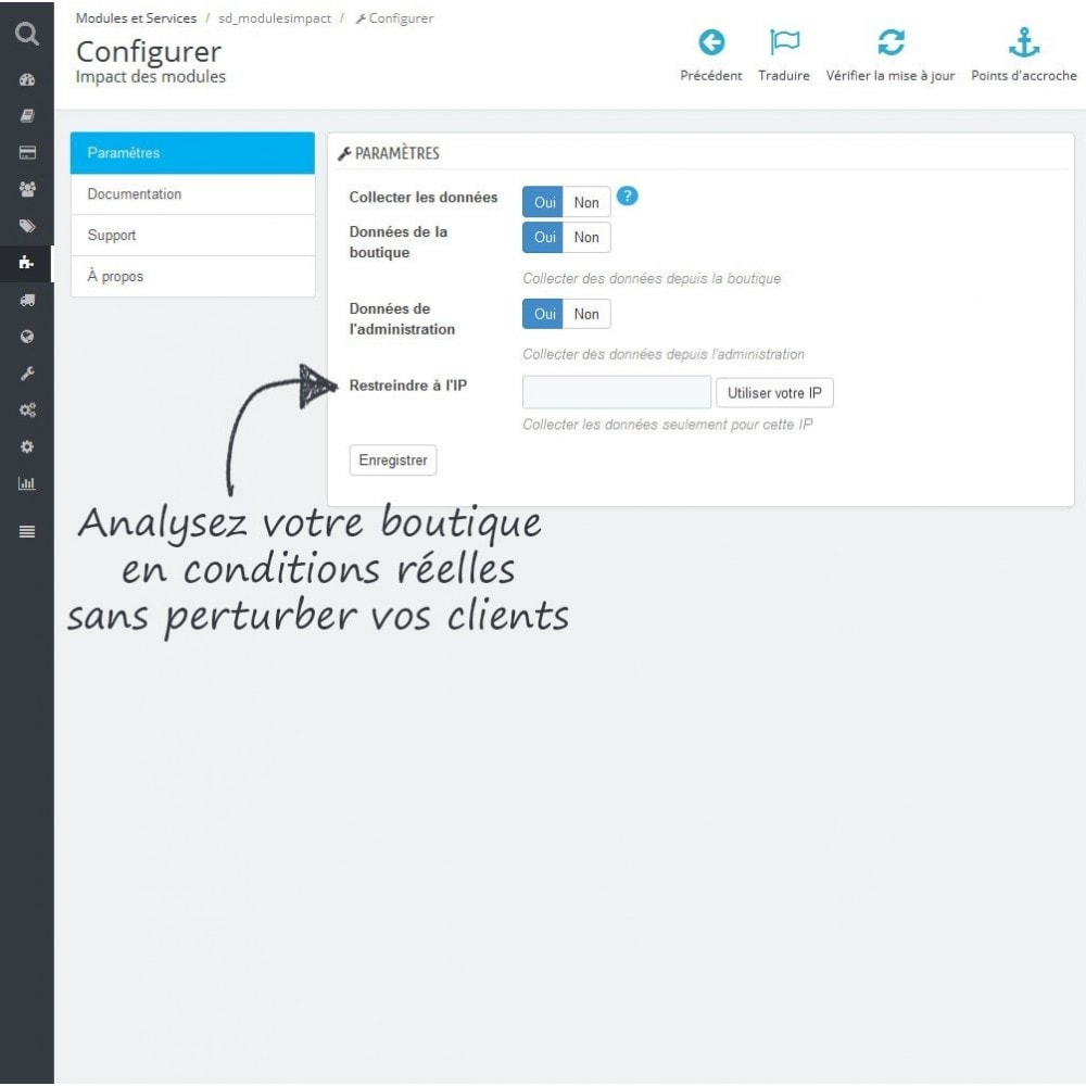 module - Performance du Site - Impact des modules - 2