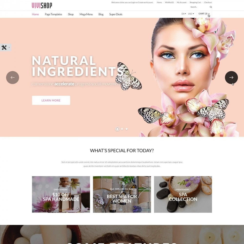 theme - Salute & Bellezza - Vivishop |  Drug Health & Beauty Store - 2