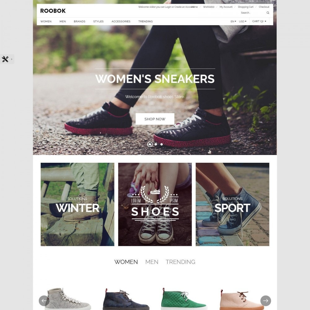 theme - Fashion & Shoes - Roobok | Fashion Sport Shoes Store - 2