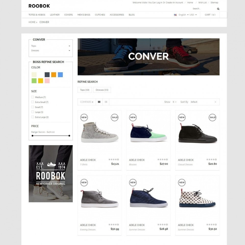 theme - Fashion & Shoes - Roobok | Fashion Sport Shoes Store - 3