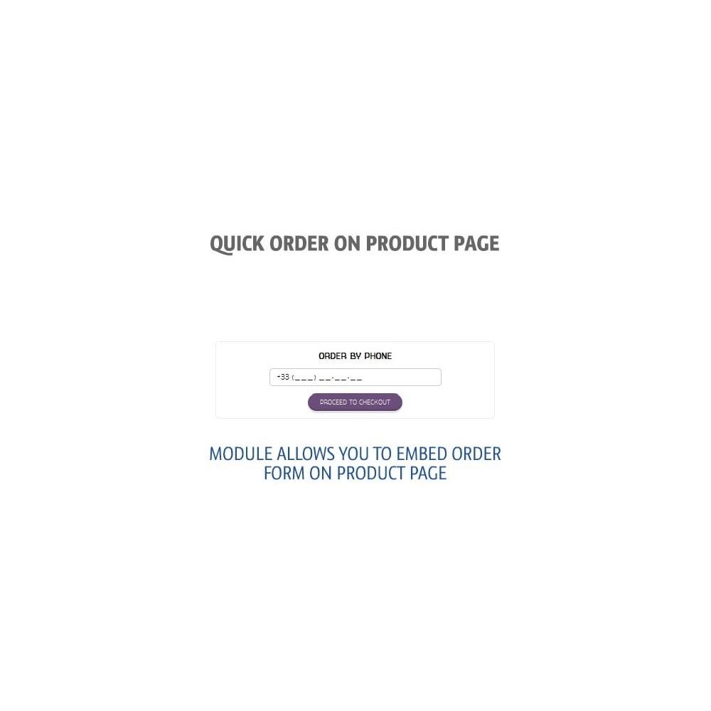 module - Pегистрации и оформления заказа - Быстрый заказ на странице товара - 1