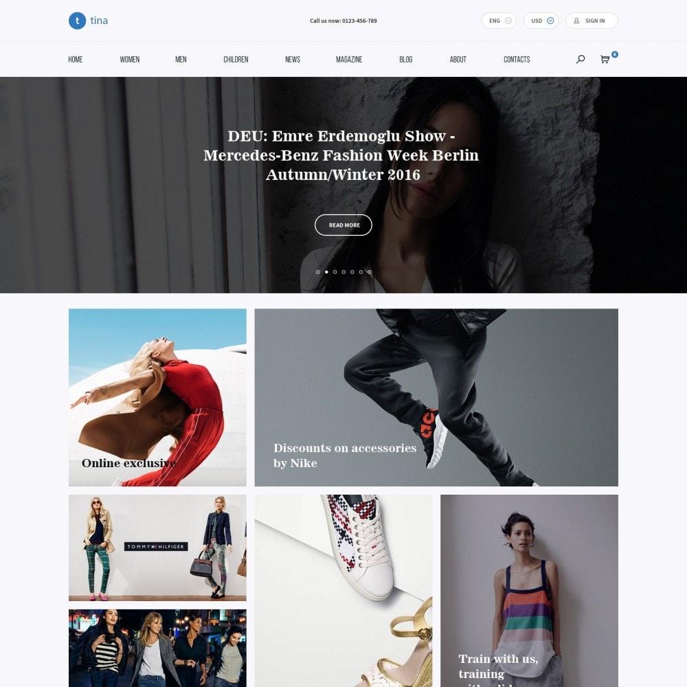 theme - Moda & Calçados - Milano - Loja de roupa - 2