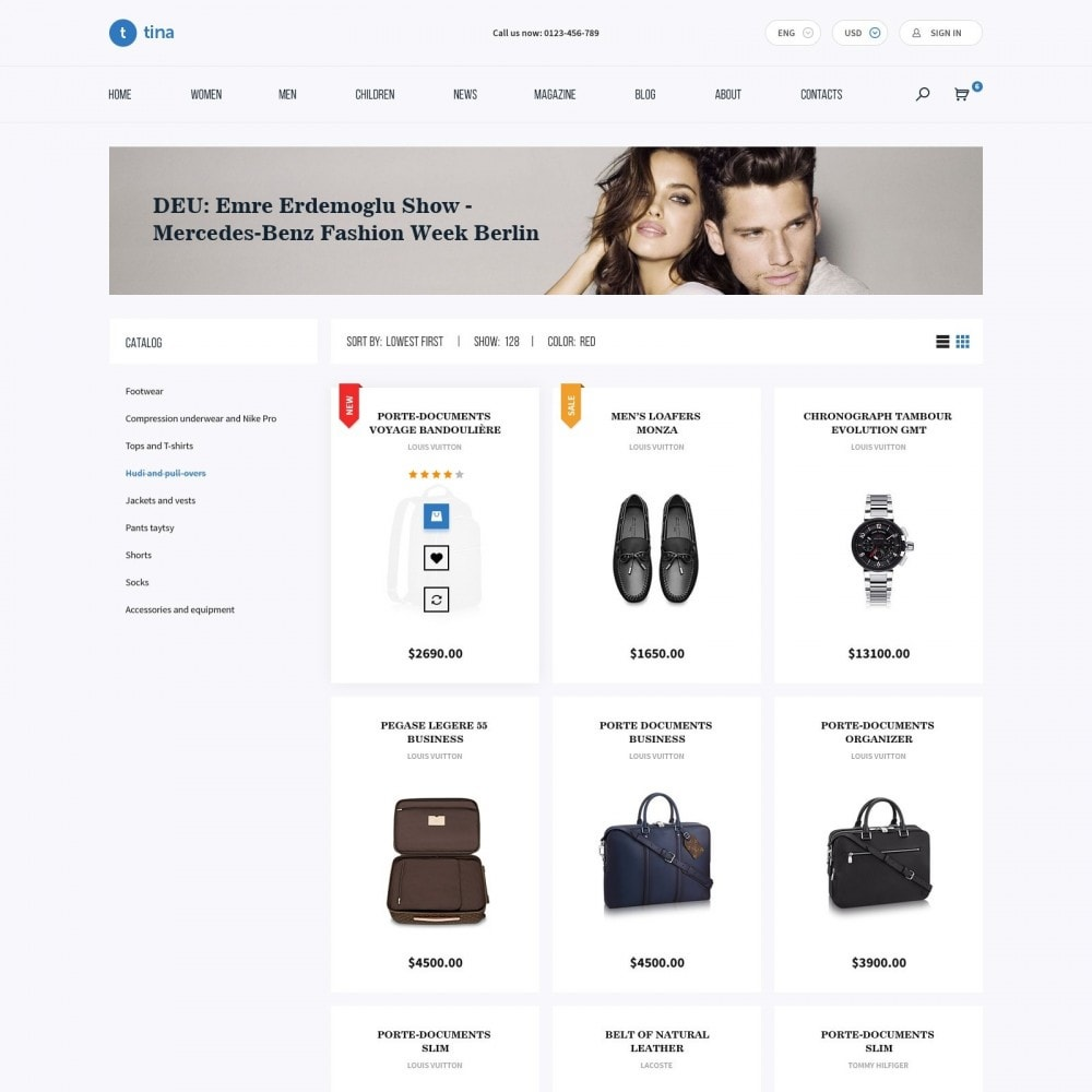 theme - Мода и обувь - Milano - Магазин Одежды - 3