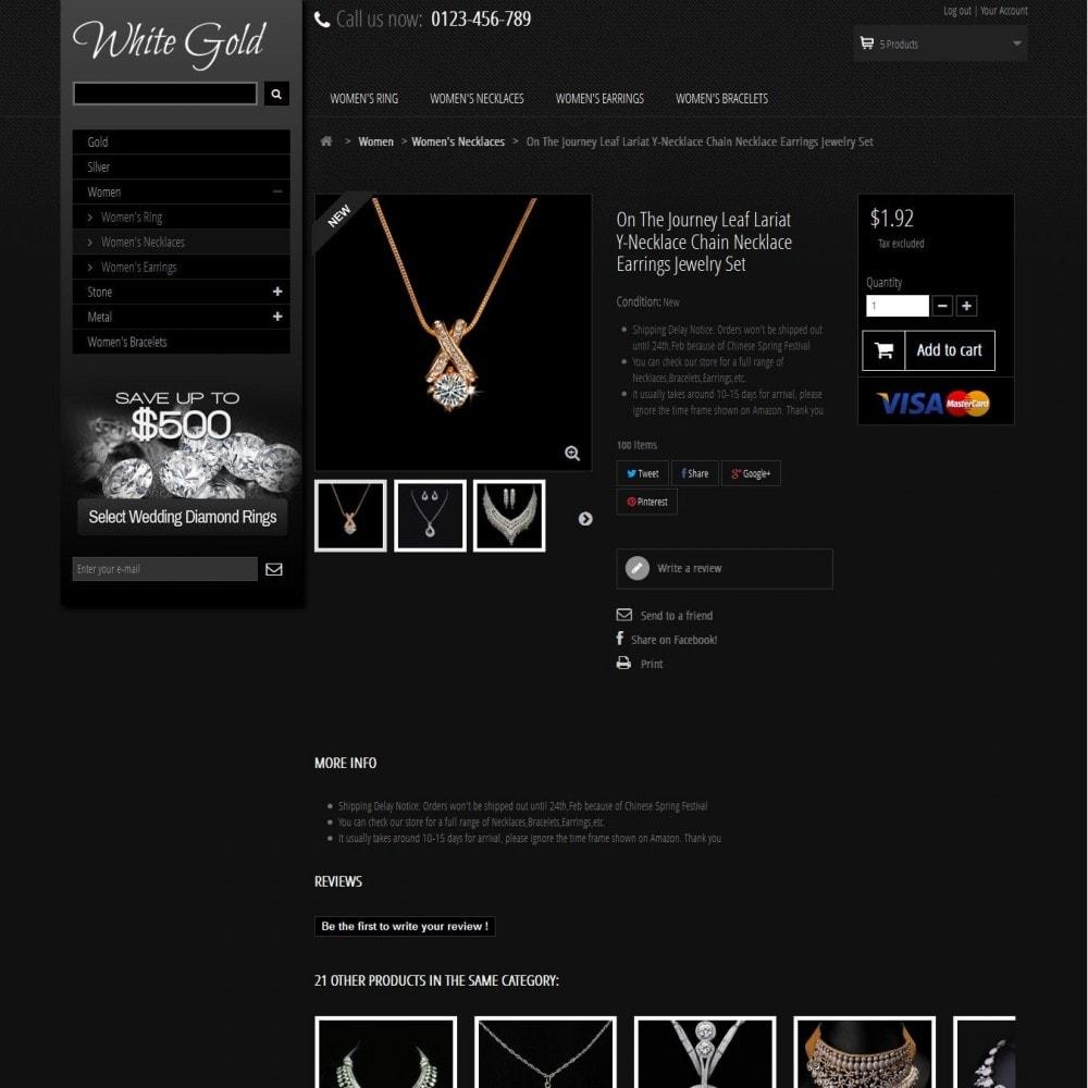 theme - Jewelry & Accessories - WhiteGold 2.5 - 4