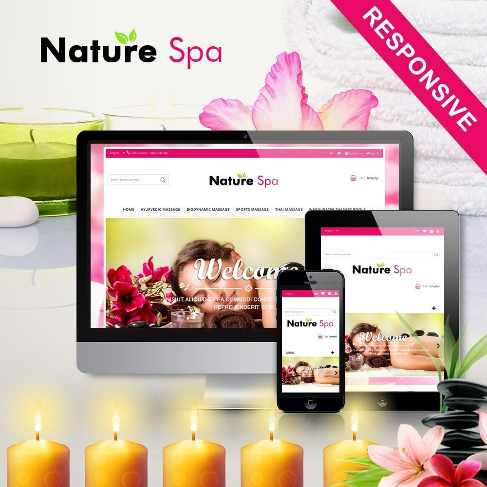 theme - Salute & Bellezza - Natural Spa Elegant - 1